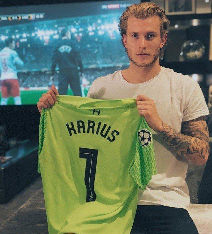 效力於英超利物浦的德國門將Loris Karius。圖/摘自IG