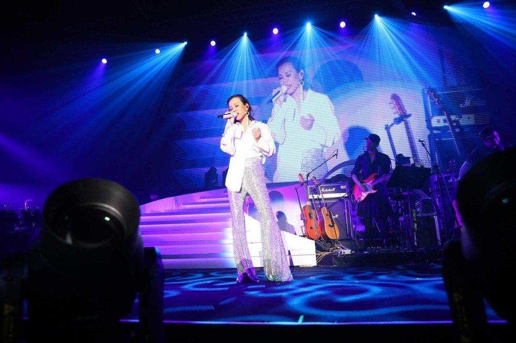 彭佳慧在上海舉辦「我想念我自己」巡演首站。圖/索尼提供