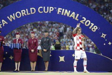 「比較強不一定贏」 世足金球得主莫德里奇抱憾歸