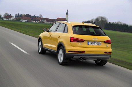 全新Audi Q3路試中 竟然全無偽裝!