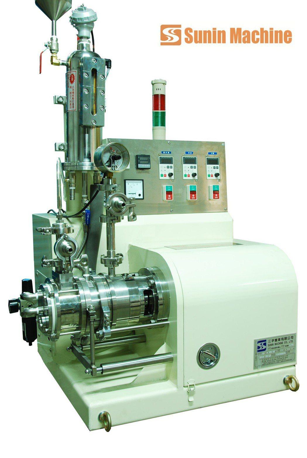 全陶瓷臥式研磨機被廣泛應用於研磨、分散奈米級塗料、電子工業原材料等,機械操作簡易...