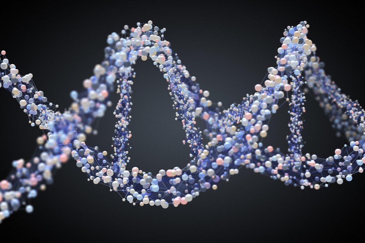 示意圖。英國法律目前禁止基因編輯,但納菲爾德生物倫理委員會說,基因編輯或能及時成...