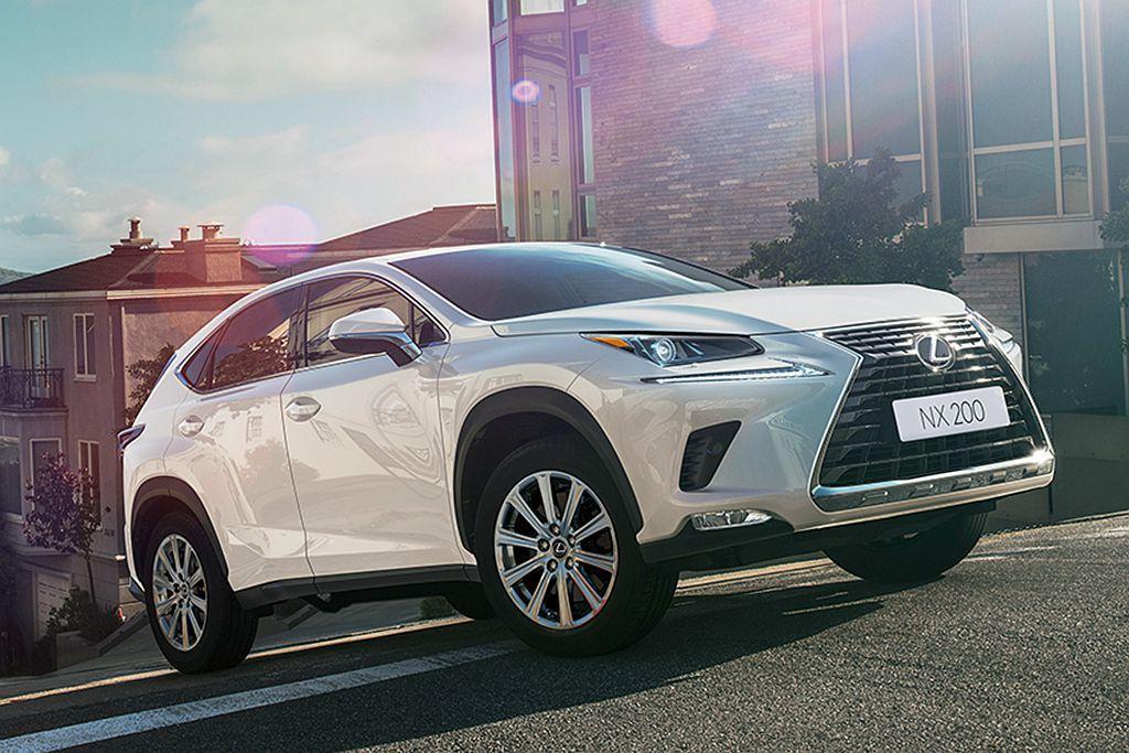 日系豪華品牌Lexus的NX都會休旅,今年上半年以3,978輛表現成為臺灣暢銷休旅排行榜第四名。 圖/Lexus提供