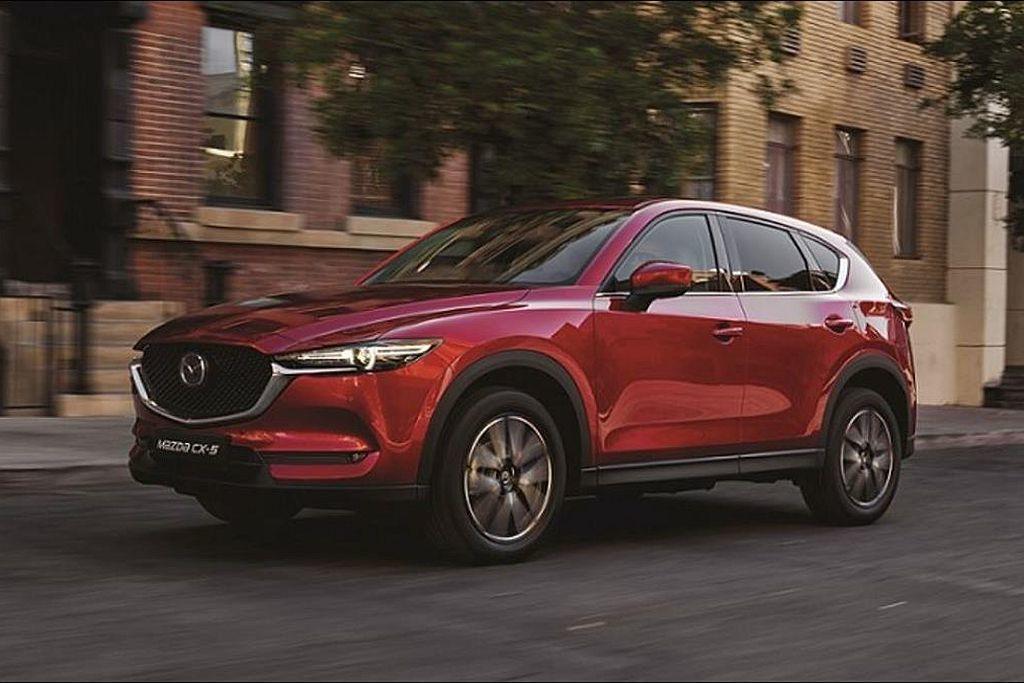 外型動感、操駕樂趣十足的Mazda CX-5,今年上半年共賣出3,807輛的不俗...
