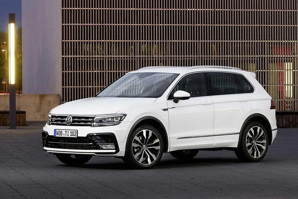 德系福斯(Volkswagen)的Tiguan銷售成績相當不錯,以3,038輛排...