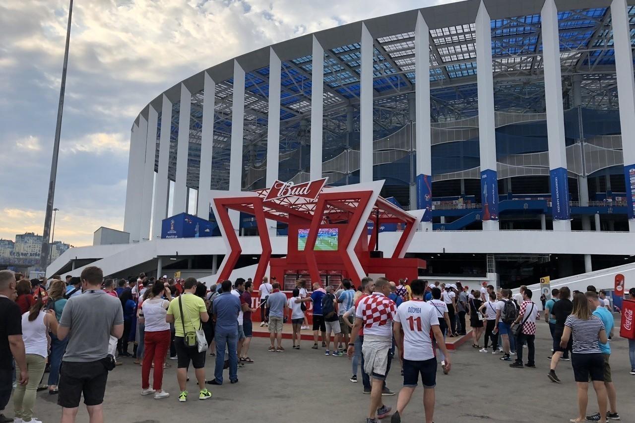 世足現場直擊4 下諾夫哥羅球場逆時針火車大長征