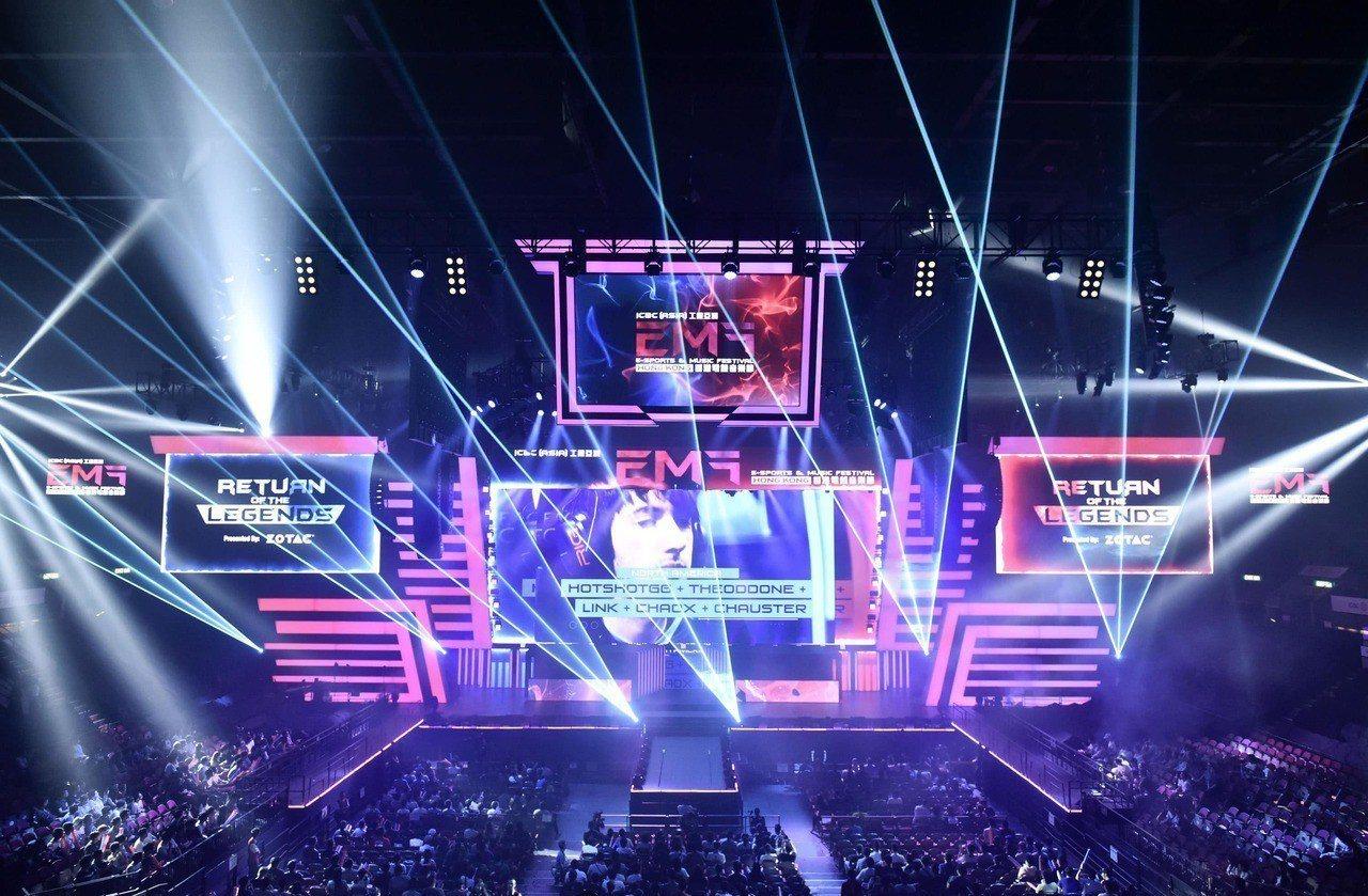 香港電競音樂節即將於8月24日至26日舉行,為玩家帶來三項國際級電競賽事。 圖/...