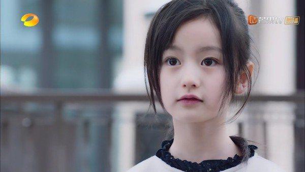 裴佳欣在「流星花園」演出童年版藤堂靜。圖/摘自微博