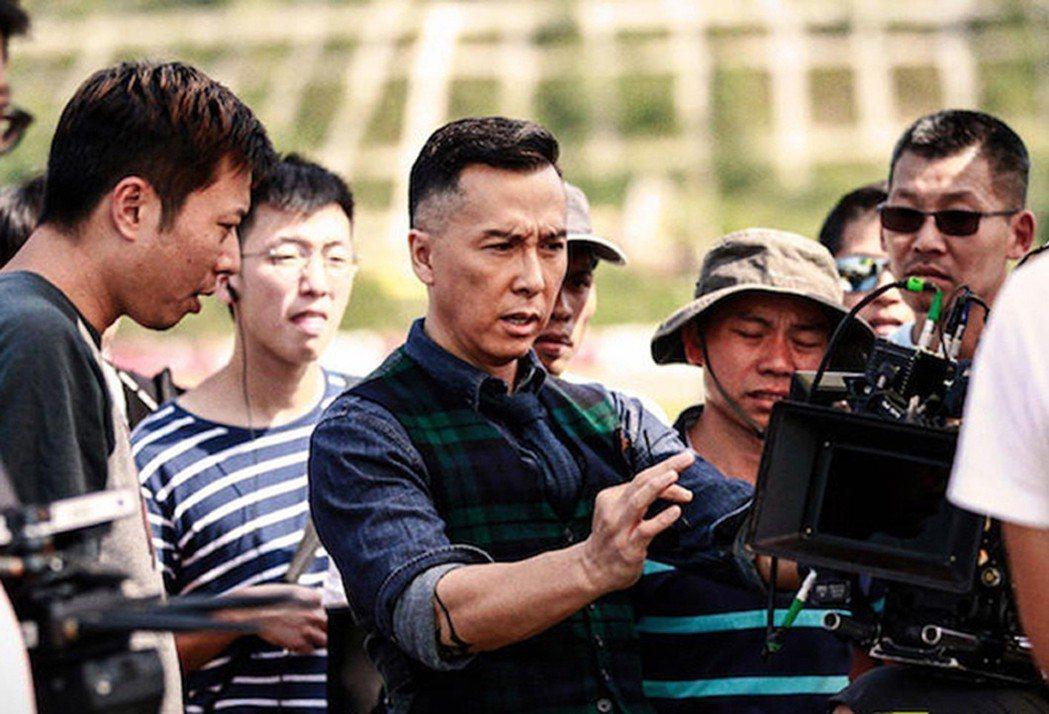 甄子丹是主演也身兼監製 對每顆鏡頭都非常要求。圖/華映娛樂提供