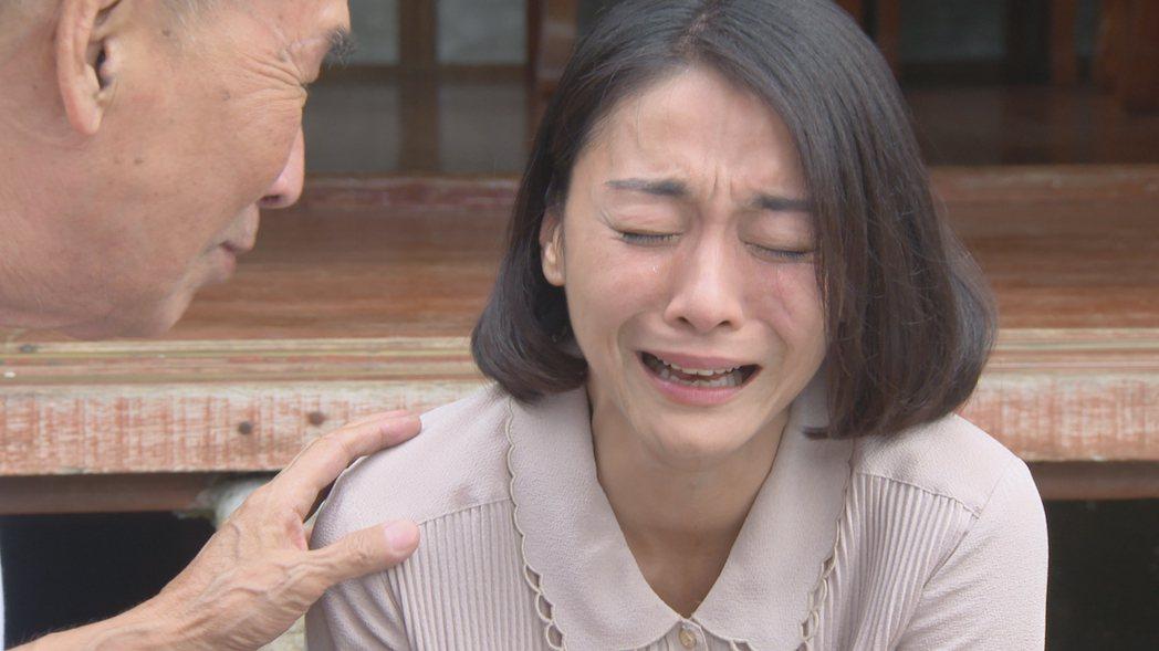 江祖平近期演出「大時代」哭戲多。圖/民視提供