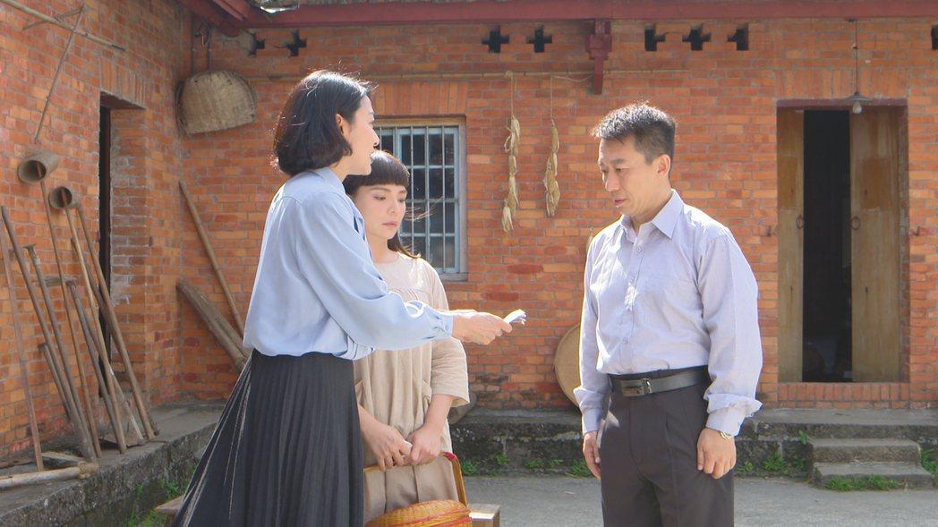 江祖平(左)與郭子亁在戲中配對。圖/民視提供