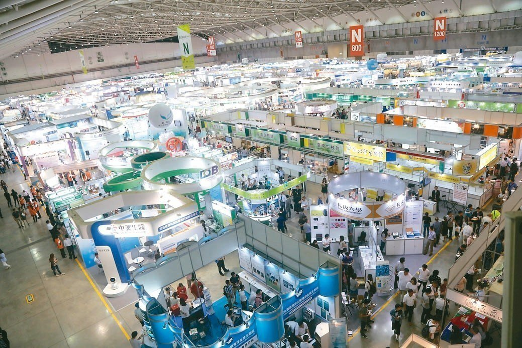 超過20個國家、300家國內外廠商與會,預計媒合場次將再創新高。 圖/台灣生物產...
