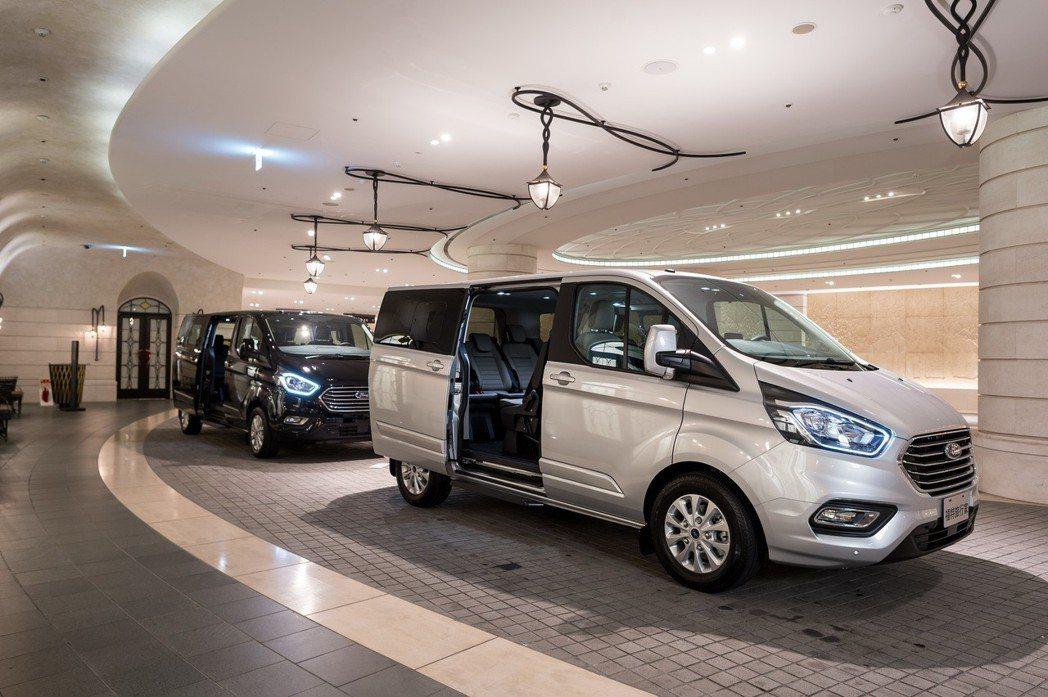 福特旅行家全車系標配雙側滑門,從容移動不失優雅。 圖/福特六和提供