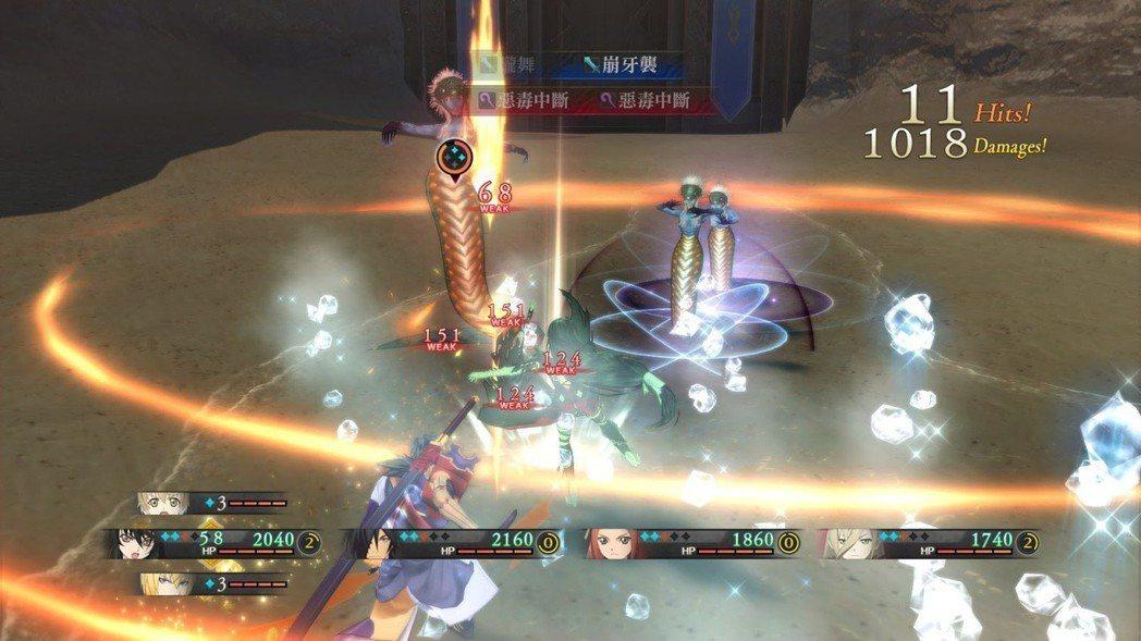以寡敵眾的戰況很常見,熟悉每名角色的戰鬥風格才能順利戰勝強敵。