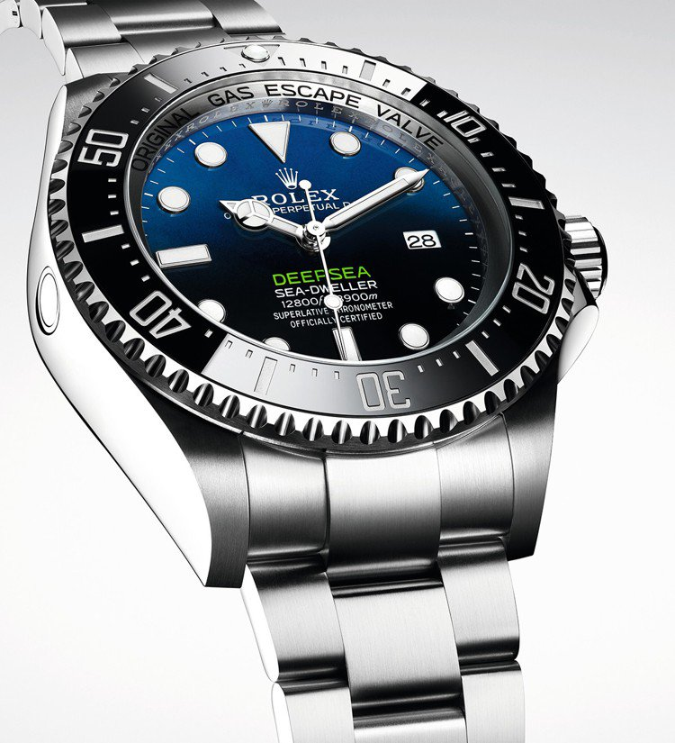 Rolex Deepsea配備單向旋轉黑色Cerachrom 60分鐘刻度字圈,...