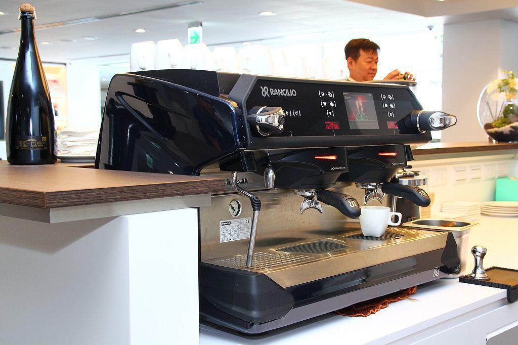 義大利進口Rancilio頂級咖啡機 記者張振群/攝影