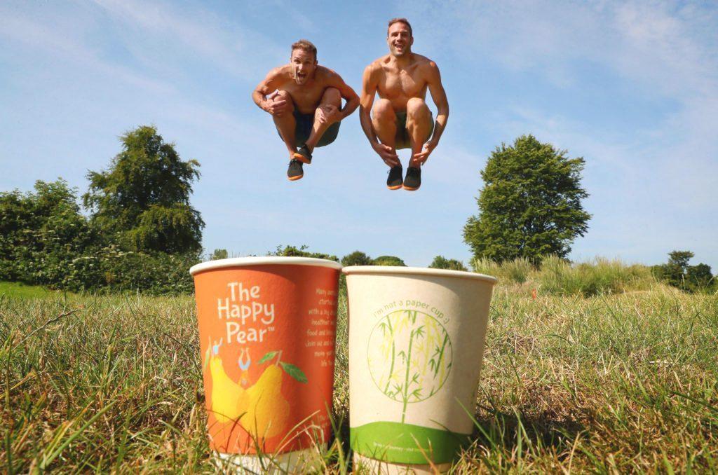 愛爾蘭零售商The Happy Pear販售這款不含紙漿的可堆肥杯子。圖/翻攝T...
