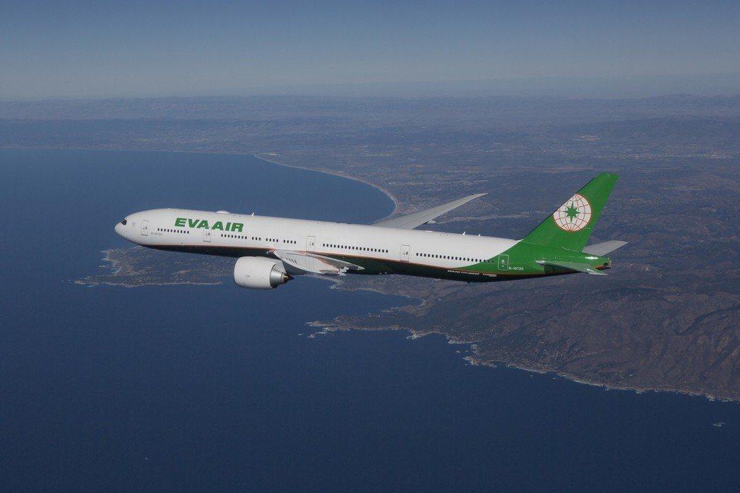 長榮航空今年獲全球最佳航空排名第5名。圖/長榮航空提供