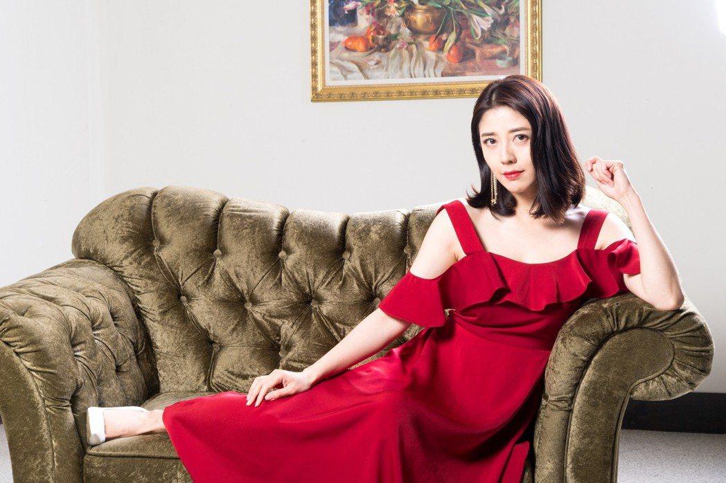韓瑜未來想開婚紗店。圖/三立提供