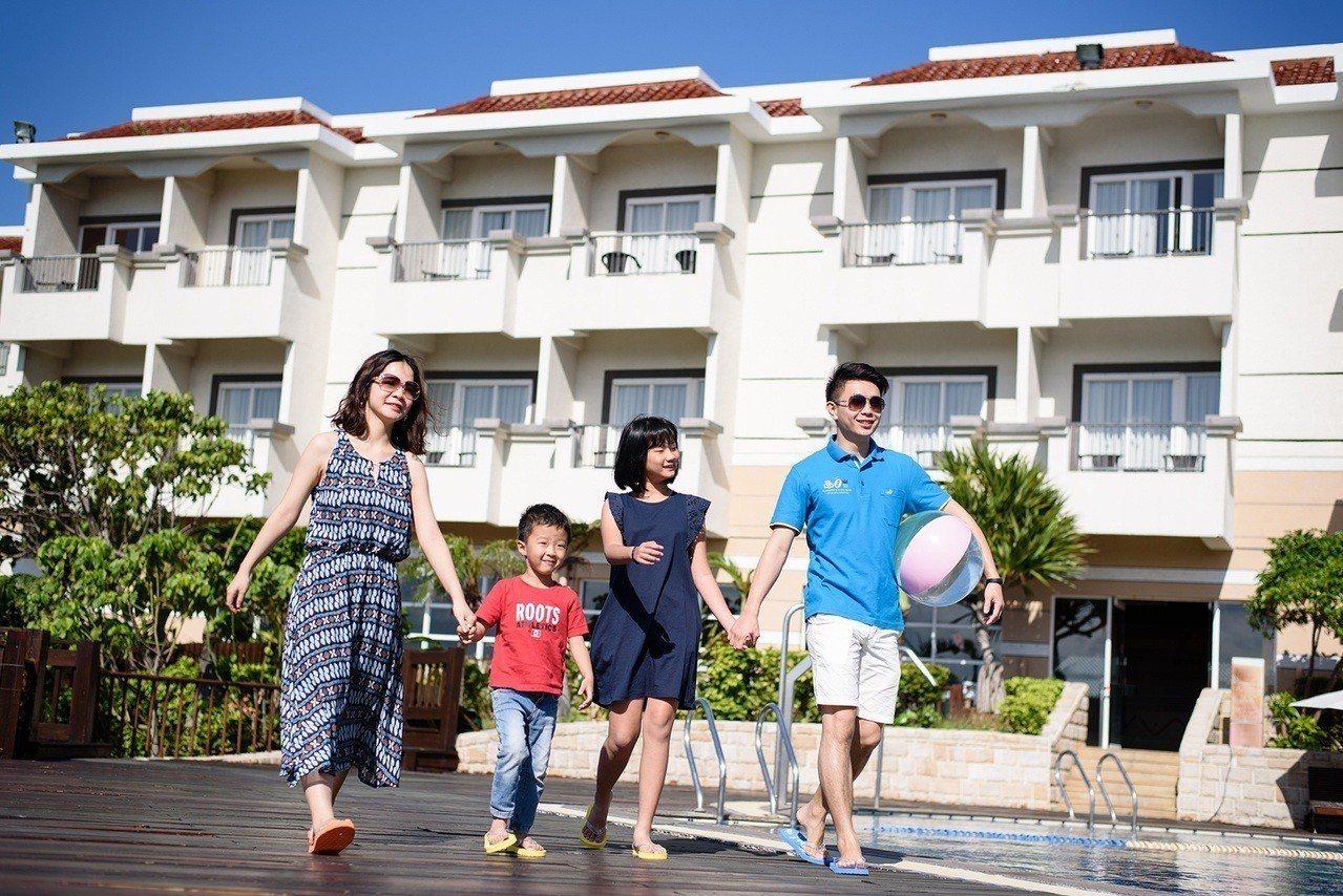 墾丁福容歡慶9周年,暑假平日入住每人999元。圖/福容飯店提供