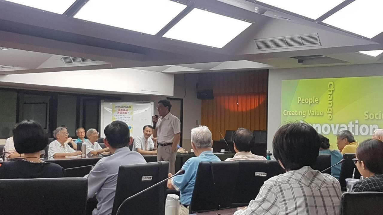 香港城市大學校長郭位認為,台灣的通識教育起步太晚。記者吳佩旻/攝影