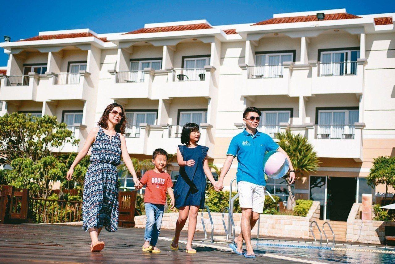墾丁福容歡慶9周年,暑假平日入住每人999元。 圖/福容飯店提供
