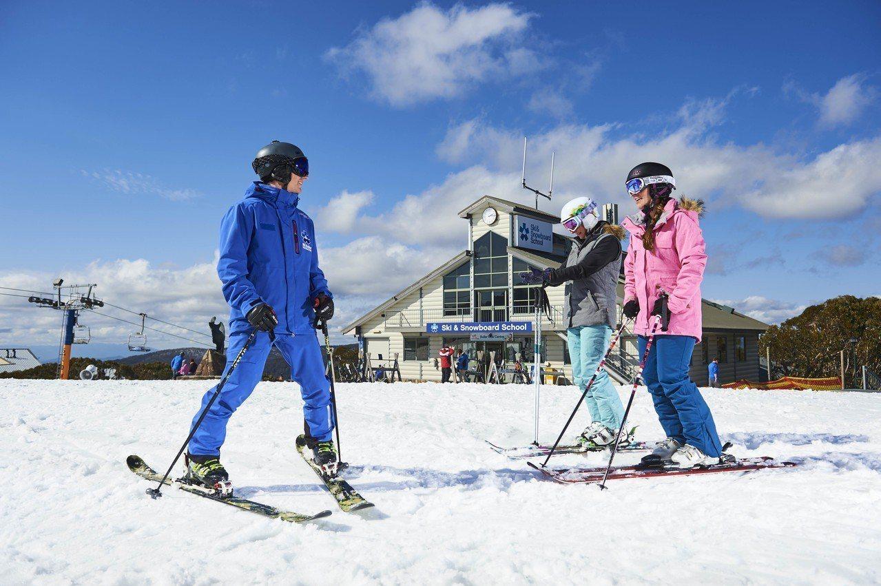每年6-9月是維州最適合滑雪的季節。 圖/澳洲旅遊局提供