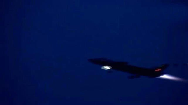 殲-20參與夜間訓練,為飛行員和地面指揮人員帶來不小挑戰。圖/截自中共空軍發布微...