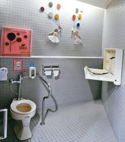 十三行博物館館內公廁五度獲得公廁金質獎。圖/新北環保局提供