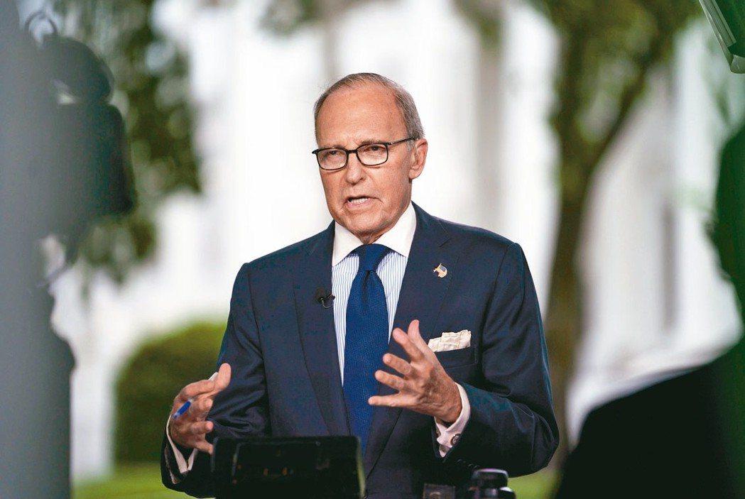 美國總統川普首席經濟顧問庫德洛認為川普對美中貿易談判「很不滿意」,支持川普持續施...