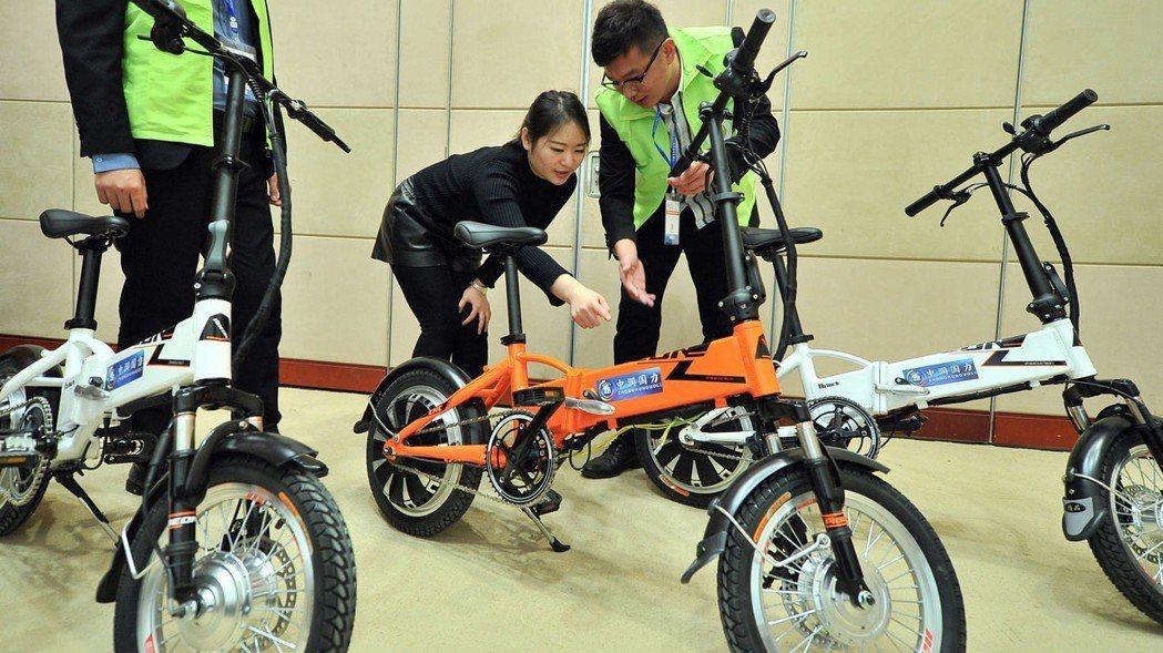 圖為第18屆中國北方國際自行車電動車展 中新社