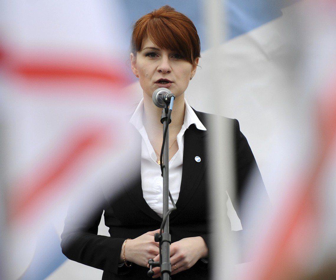 現年29歲的俄羅斯人瑪麗亞.布提娜(Maria Butina),因涉嫌替俄國從事...