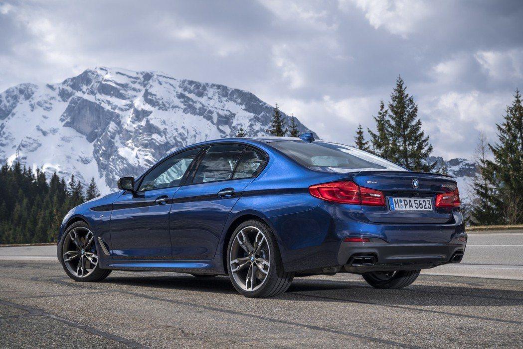 BMW 5-Series(G30/G31)在今年上半年的銷量表現亮眼,成為BMW的銷售一哥! 摘自BMW