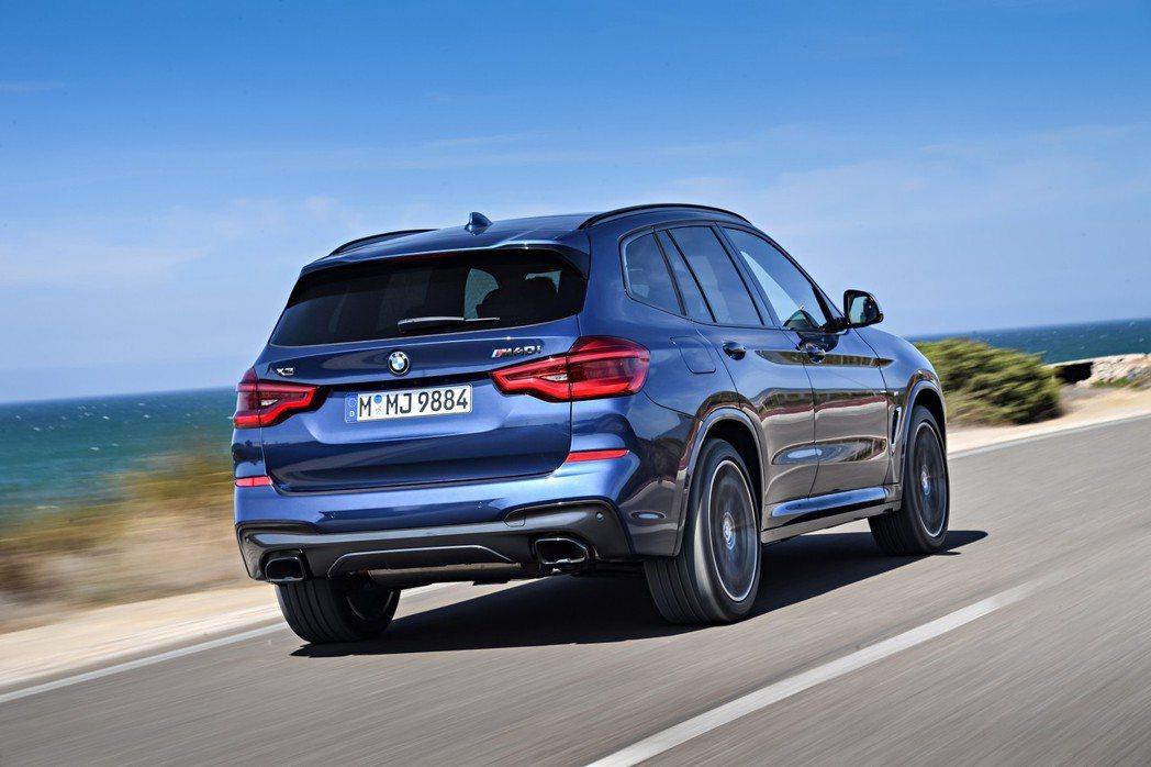 新世代X3在近期陸續交車後,預計未來的銷量將會有所提升。 摘自BMW