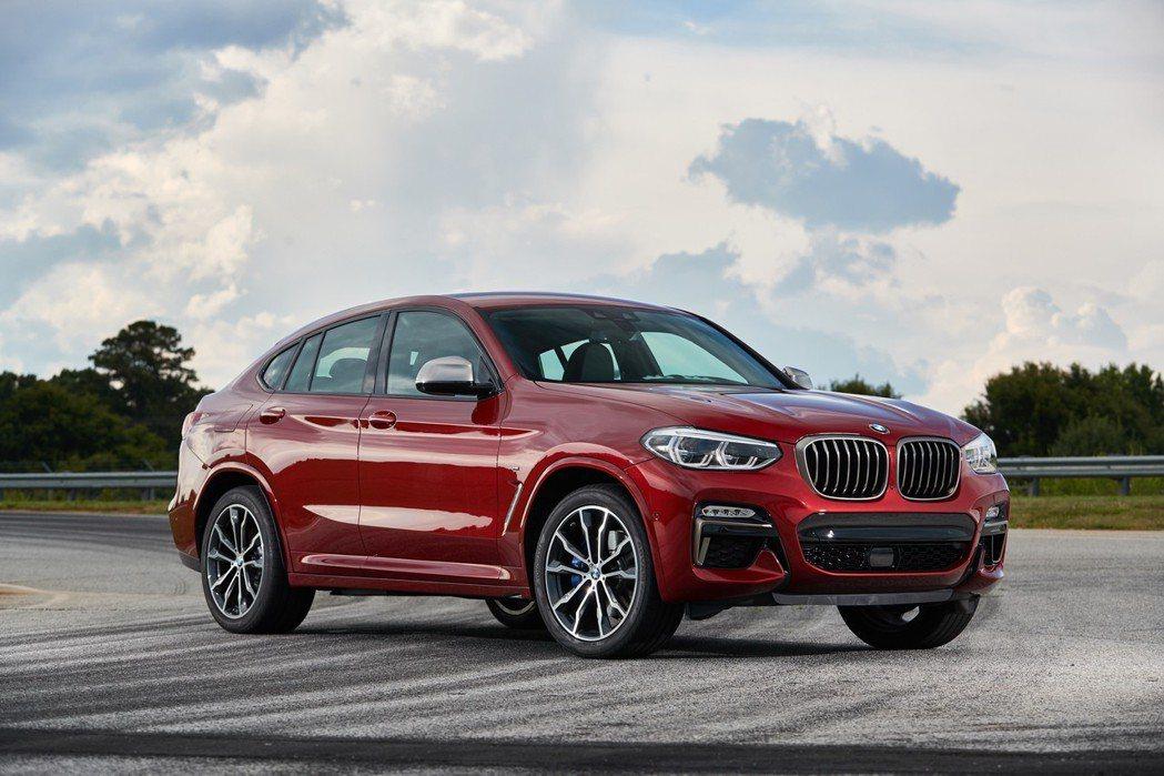 新世代BMW X4(G02)。 摘自BMW