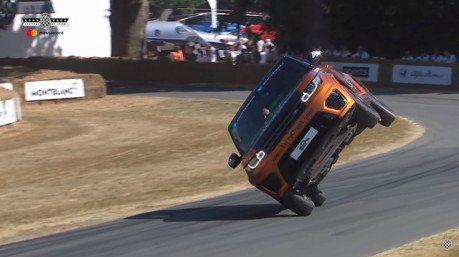 JLR每次出場都是紀錄 二輪征服Goodwood爬坡賽的Range Rover Sport SVR