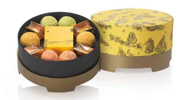 采采食茶今年研發出兩款以茶入味的月餅。 采采食茶/提供