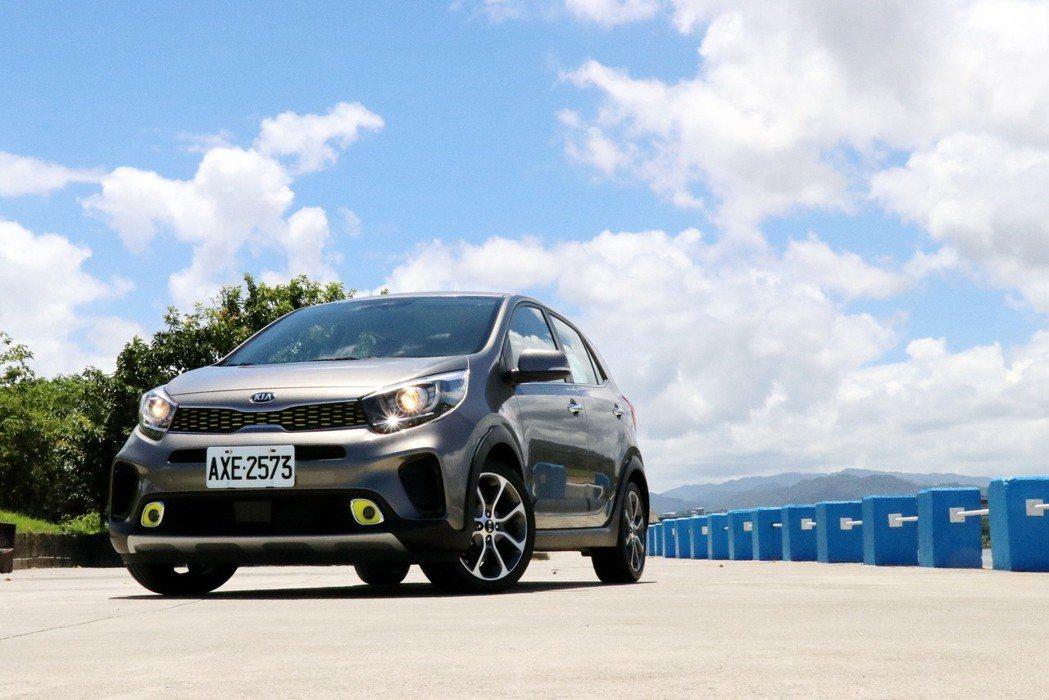 Picanto X-Line的出現,讓國產小車有了不小壓力。 記者陳威任/攝影