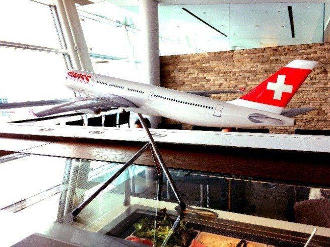 瑞士航空貴賓室一角 圖文來自於:TripPlus