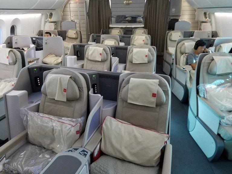 皇家約旦航空商務艙一覽(曼谷~香港段的哩程機票超級好換!) 圖文來自於:Trip...