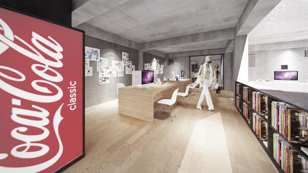 「埕」的四樓為漫畫家工作室。圖/ UPGA 瓦建設計提供。