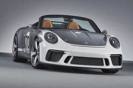 Porsche真的要計劃生產911 Speedster?