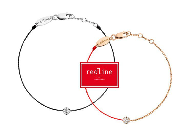 Redline經典Illusion七顆小鑽手鍊,價格店洽。圖/REDLINE提供