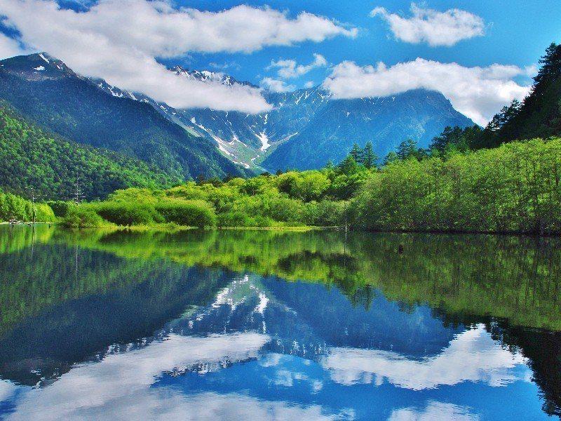有「日本阿爾卑斯山」之稱的上高地。圖/易遊網提供