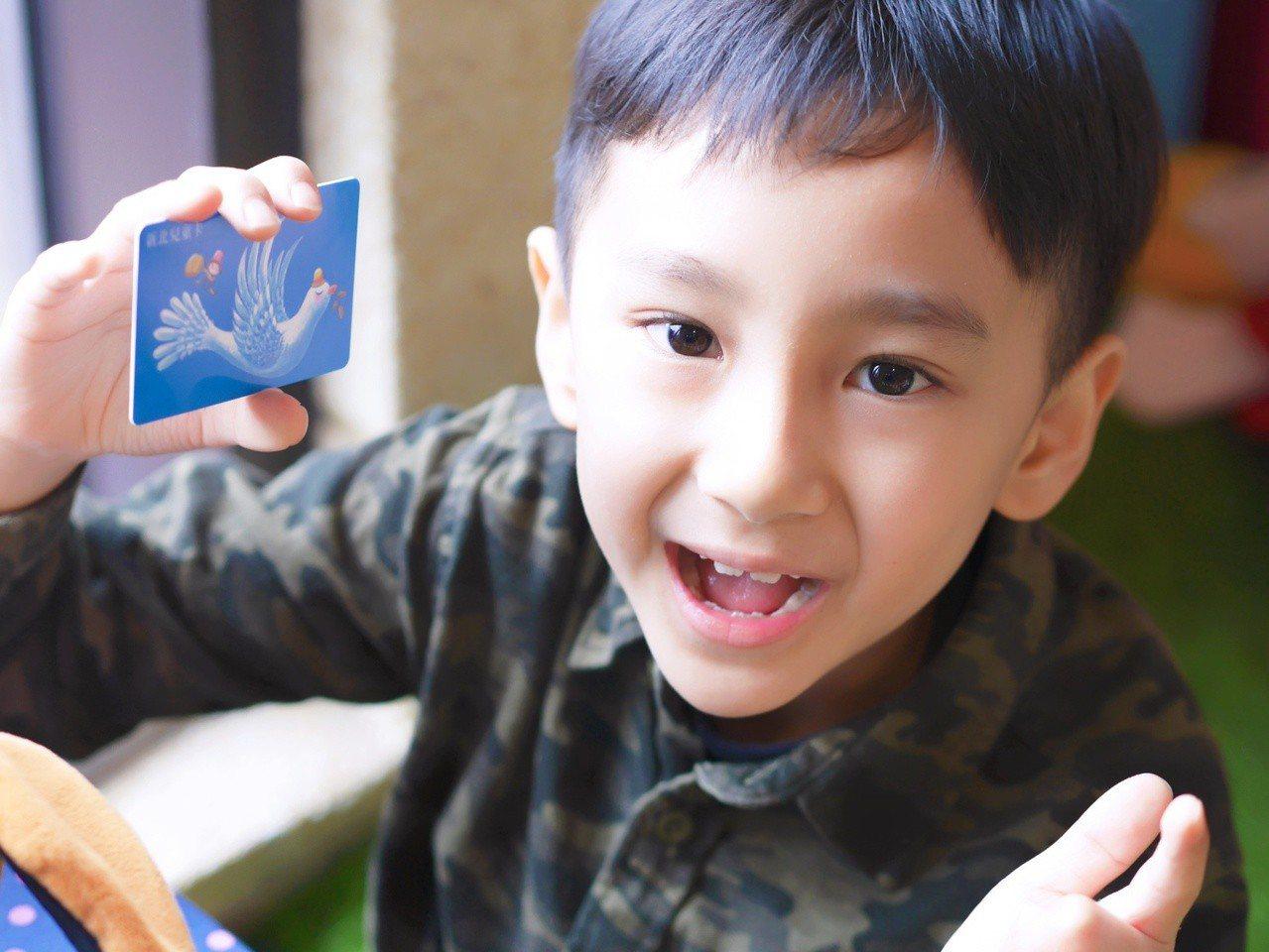 新北兒童卡今天開始搭乘機場捷運也享有5折優惠。圖/新北市交通局提供