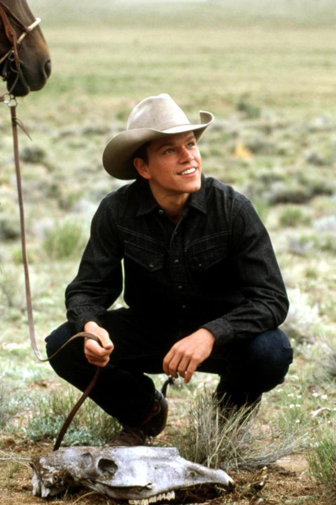 麥特戴蒙才在「愛在奔馳」演牛仔,婉拒在「斷背山」再演牛仔。圖/摘自imdb