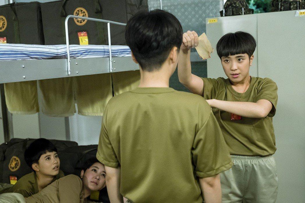梁舒涵飾演「葉素娥」逗趣可愛,受到網友喜愛。圖/TVBS提供