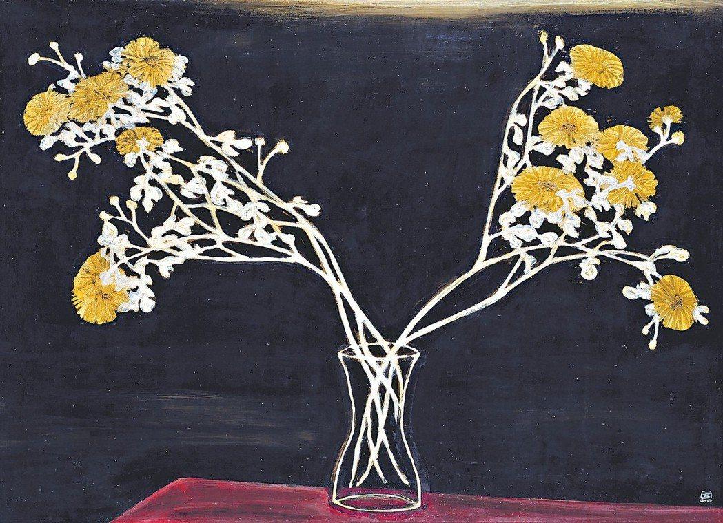 常玉作品《瓶菊》於香港佳士得2016年11月以逾1億港幣成交,成為藝術家拍賣紀錄...