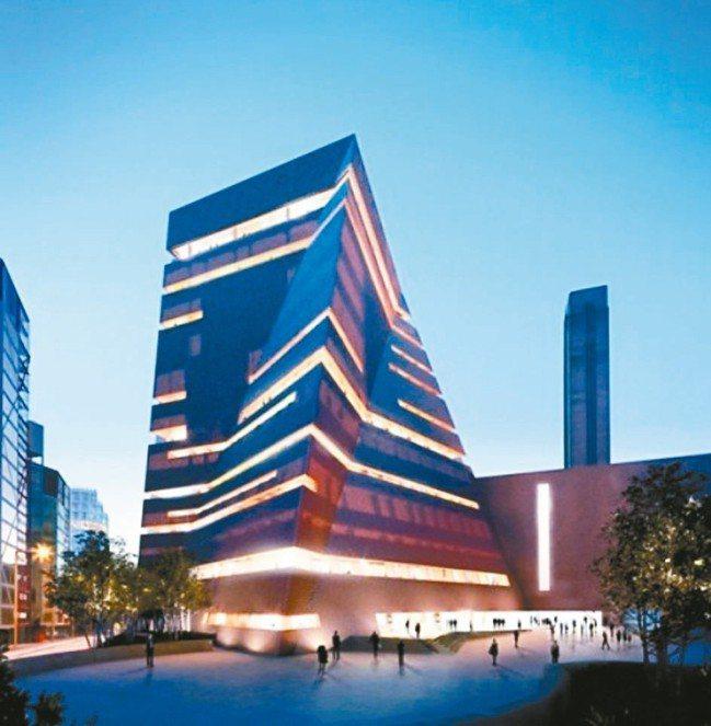 泰德現代美術館由廢棄工廠改建。 圖/泰德美術館提供