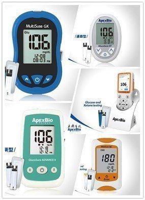 五鼎生技推出完整的血糖測試產品系列,應用領域從個人健廠照護到醫療院所的專業級設備...